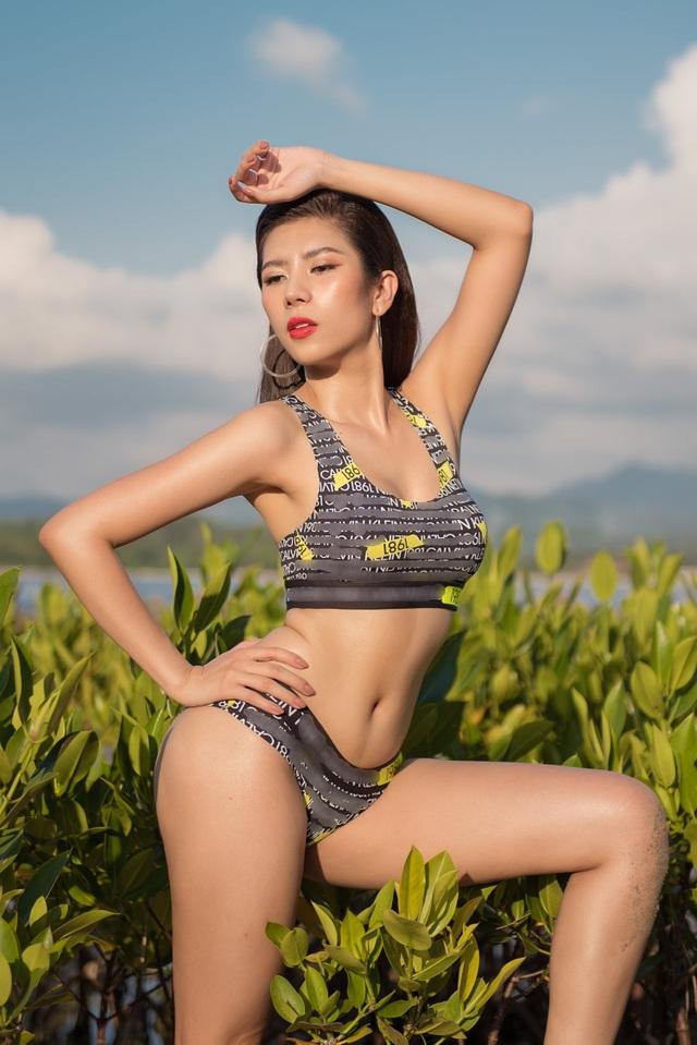Hoa hậu Du lịch Quốc tế 2019 diện bikini khoe dáng   - 8