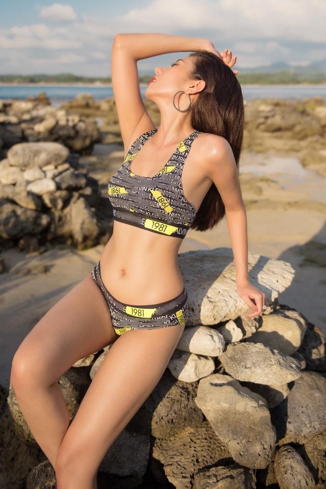 Hoa hậu Du lịch Quốc tế 2019 diện bikini khoe dáng   - 6