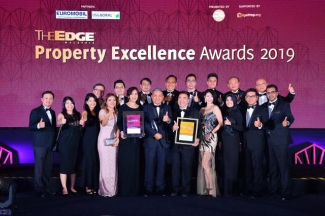 Gamuda Gardens nhận giải thưởng tại The Edge Malaysia Property Excellence Awards 2019 - 2