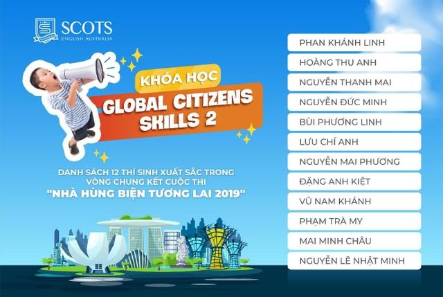 """Khóa học """"Global Citizens Skills 2"""" - Phần thưởng đặc biệt cho 12 thí sinh xuất sắc của """"Nhà hùng biện tương lai Scots English 2019"""" - 3"""