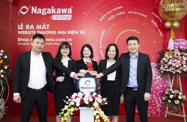 Phát triển thương mại điện tử, Nagakawa chính thức gia nhập cuộc chơi 4.0 - 2