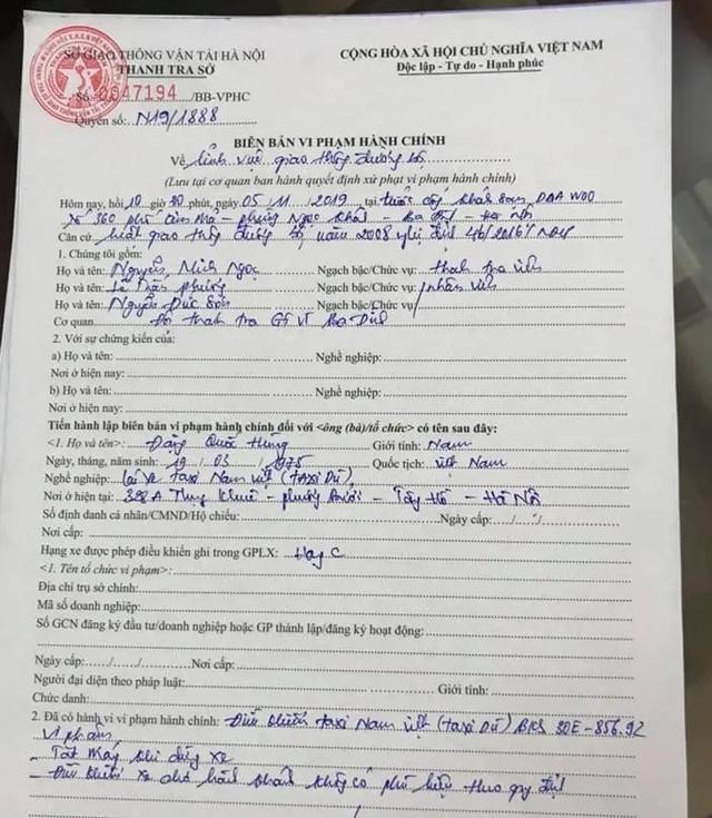 Hà Nội: Kết đắng cho tài xế taxi dù chặt chém khách Tây - 2