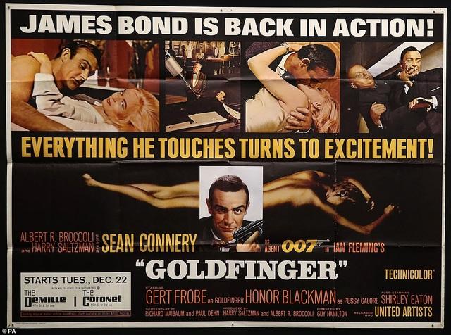 """500 bức poster phim """"Điệp viên 007"""" có giá 7,5 tỷ đồng - Ảnh minh hoạ 2"""