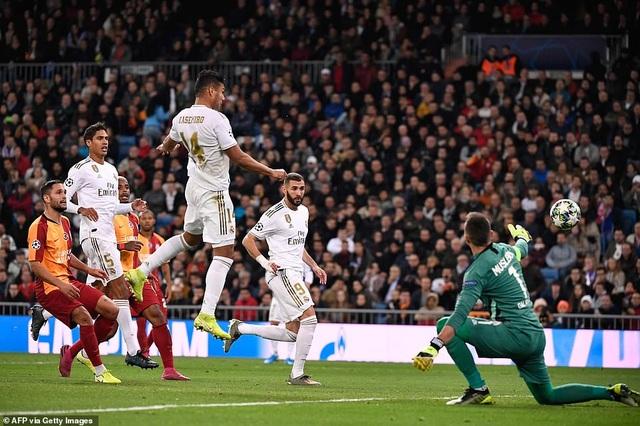 Đại thắng Galatasaray 6-0, Real Madrid cầm chắc tấm vé đi tiếp - 3