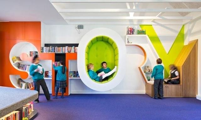 4 thư viện trường học phá cách truyền cảm hứng học tập - 2
