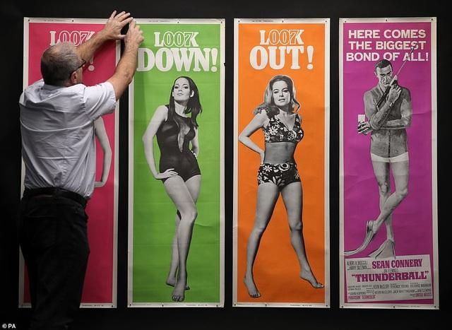 """500 bức poster phim """"Điệp viên 007"""" có giá 7,5 tỷ đồng - Ảnh minh hoạ 6"""