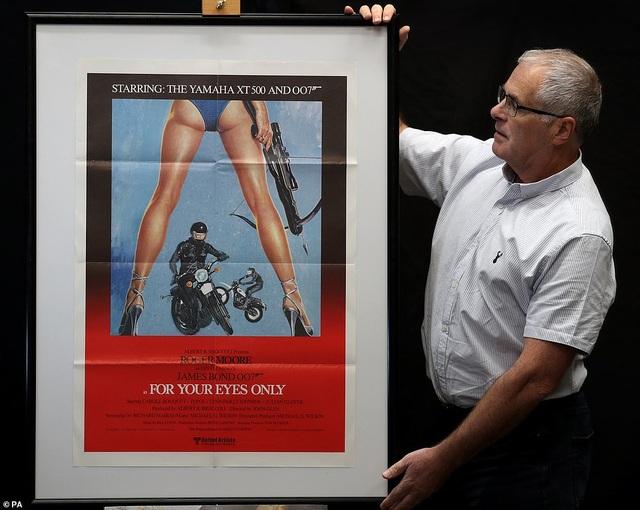 """500 bức poster phim """"Điệp viên 007"""" có giá 7,5 tỷ đồng - Ảnh minh hoạ 7"""