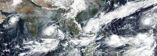 Bão số 6 diễn biến phức tạp vì phụ thuộc vào siêu bão Hạ Long - 1
