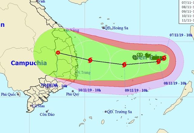 Bão số 6 diễn biến phức tạp vì phụ thuộc vào siêu bão Hạ Long - 2
