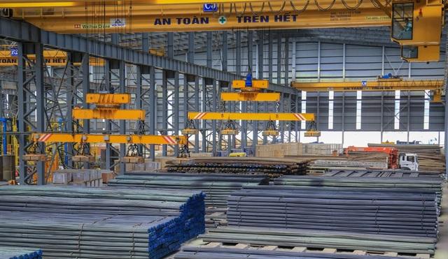 Sản lượng thép xây dựng Hòa Phát tăng 12,5% so với cùng kỳ - 1