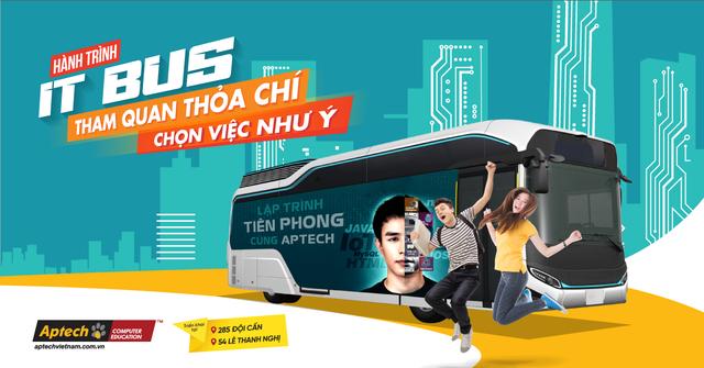 """""""Hành trình IT Bus"""" trao cơ hội, khơi đam mê cho sinh viên CNTT - 1"""