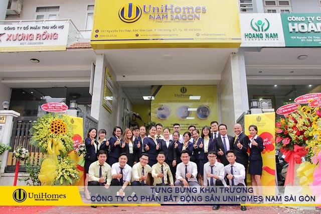 Khai trương đỏ tấn tài phát lộc cùng Công ty Cổ phần Bất động sản UniHomes Nam Sài Gòn - 3