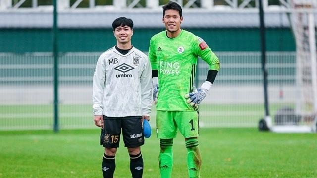 Đối diện với thủ môn Thái, Công Phượng bỏ lỡ cơ hội ngon ăn trên đất Bỉ - 1