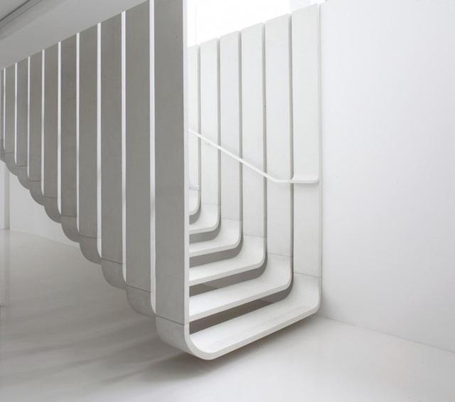 Những mẫu cầu thang phiêu diêu như cung đàn, ngắm mãi không chán - 6