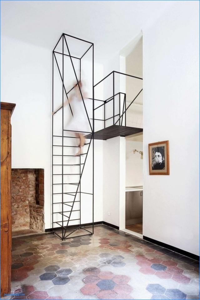 Những mẫu cầu thang phiêu diêu như cung đàn, ngắm mãi không chán - 7