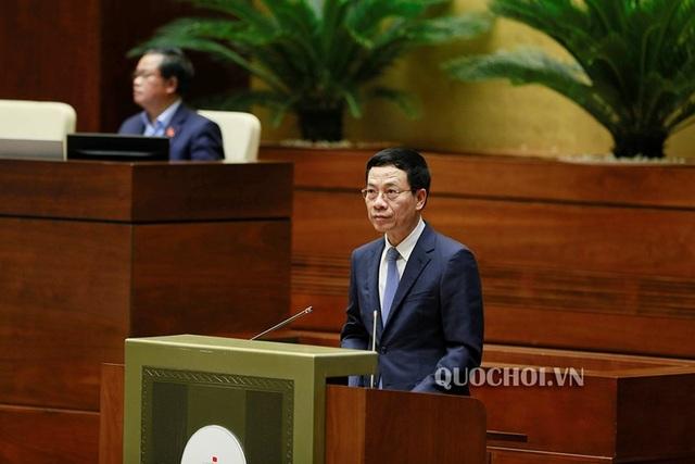 """Bộ trưởng Nguyễn Mạnh Hùng: Đừng nghĩ """"đeo mặt nạ"""" thì không ai tìm ra mình! - 6"""