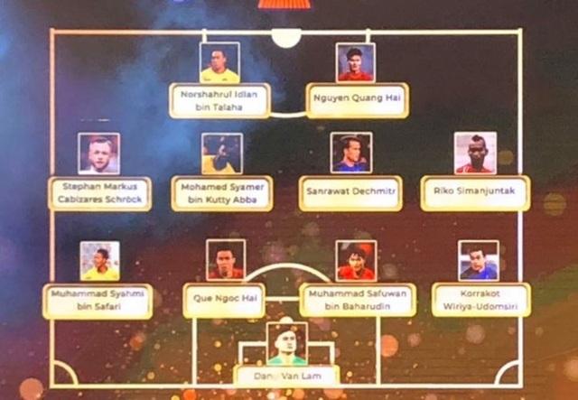 Liên đoàn bóng đá Đông Nam Á vinh danh HLV Park Hang Seo và Quang Hải - 4