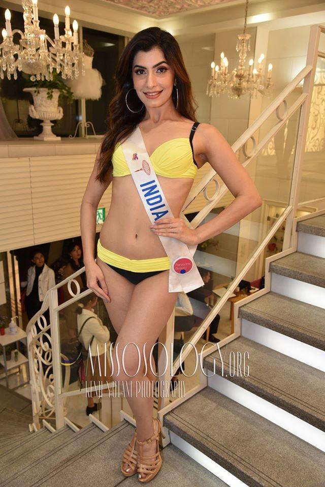 Tường San trình diễn áo tắm, lọt top 10 ứng viên sáng giá cho ngôi vị Hoa hậu Quốc tế 2019 - 12