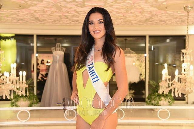 Tường San trình diễn áo tắm, lọt top 10 ứng viên sáng giá cho ngôi vị Hoa hậu Quốc tế 2019 - 20