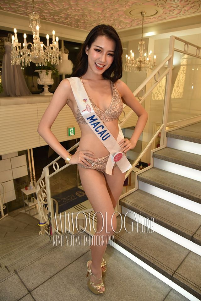 Tường San trình diễn áo tắm, lọt top 10 ứng viên sáng giá cho ngôi vị Hoa hậu Quốc tế 2019 - 6