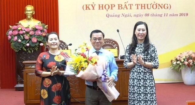 Ông Nguyễn Tấn Đức làm tân Phó Chủ tịch HĐND tỉnh Quảng Ngãi - 1