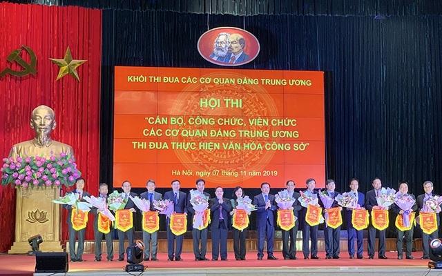 Hội thi thực hiện văn hóa công sở các cơ quan Đảng Trung ương - 1