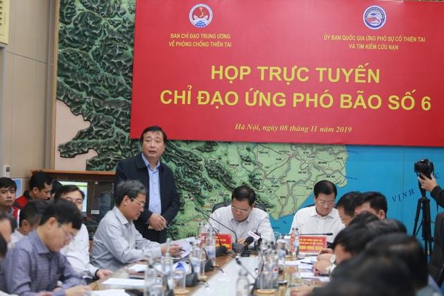 Phó Thủ tướng đề nghị Bộ GTVT điều tàu vào Bình Định ứng phó bão số 6 - 2