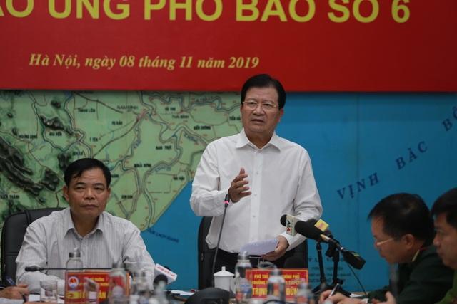 Phó Thủ tướng đề nghị Bộ GTVT điều tàu vào Bình Định ứng phó bão số 6 - 3