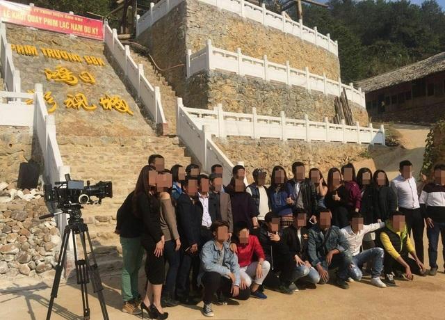 """Đoàn phim Trung Quốc quay phim gì trong công trình """"bí ẩn"""" ở Lạng Sơn? - 2"""