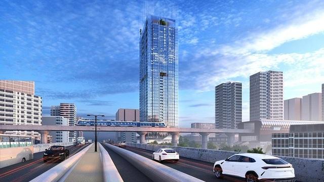 Hà Nội: Các dự án gần ga Metro sẽ tăng giá vượt trội trong năm tới? - 1