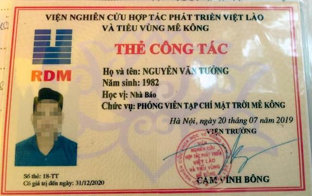 Hà Nội: Dùng thẻ nhà báo giả để xin bỏ qua vi phạm giao thông - 1