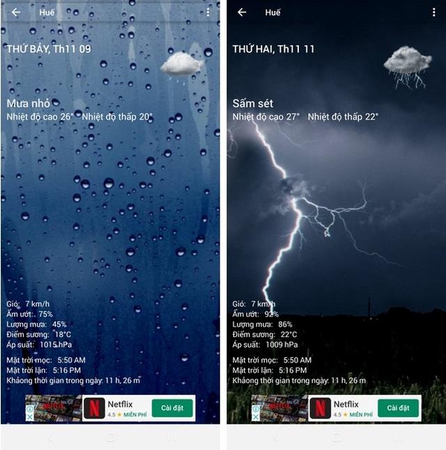 Ứng dụng dự báo thời tiết với giao diện cực đẹp dành cho smartphone - 3