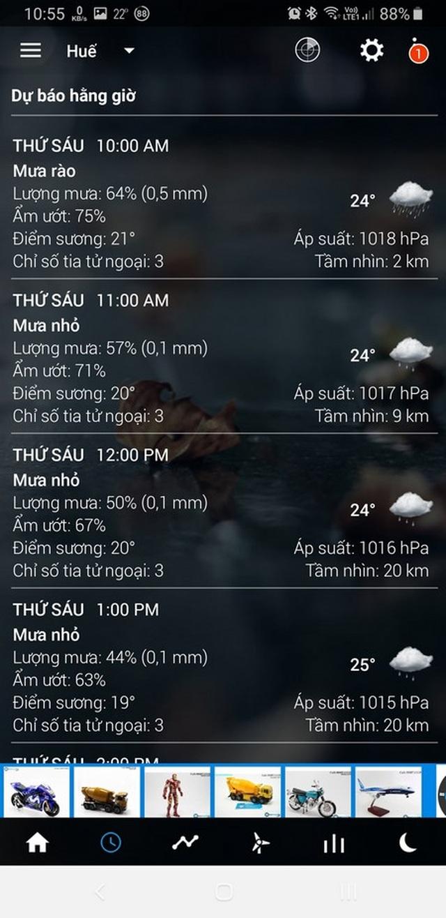 Ứng dụng dự báo thời tiết với giao diện cực đẹp dành cho smartphone - 4