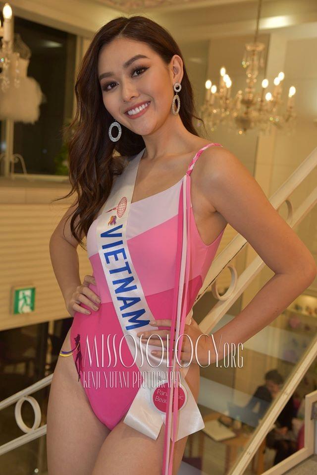Tường San trình diễn áo tắm, lọt top 10 ứng viên sáng giá cho ngôi vị Hoa hậu Quốc tế 2019 - 5