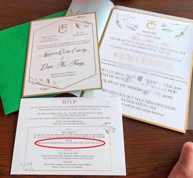 Những quy định đặc biệt trong đám cưới của sao Việt - 4