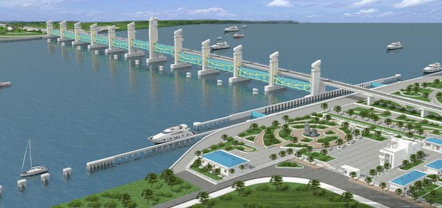 Dự án thủy lợi lớn nhất ĐBSCL cam kết về đích sớm trước hạn - 2