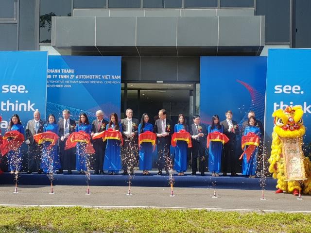 Khánh thành nhà máy ZF của Đức tại Hải Phòng - Sản xuất bộ trục xe cho VinFast - 2