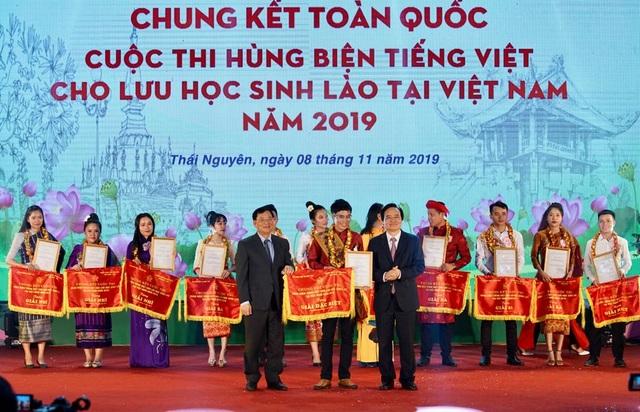 """Chung kết Cuộc thi """"Hùng biện tiếng Việt cho lưu học sinh Lào tại Việt Nam"""" 2019 - 4"""