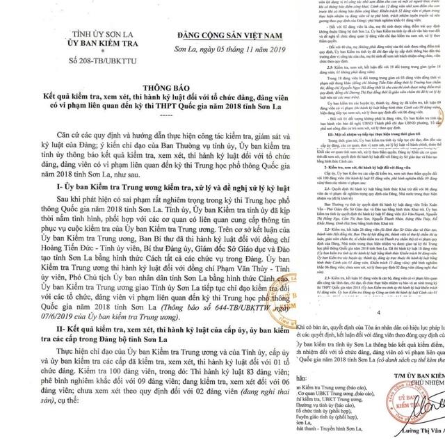 Công khai danh tính 46 đảng viên có con được nâng điểm ở Sơn La - 2