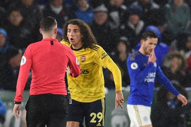 "Leicester 2-0 Arsenal: Vardy, Madison vùi dập ""Pháo thủ"" - 4"