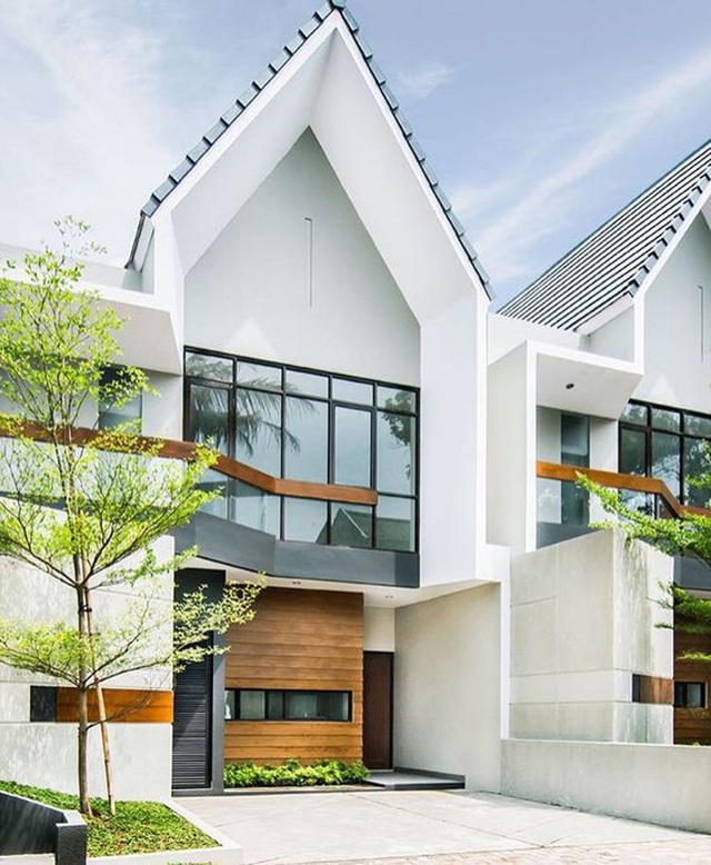 Những kiểu nhà mái và mặt tiền khác biệt gây tò mò nhưng siêu ấn tượng - 3