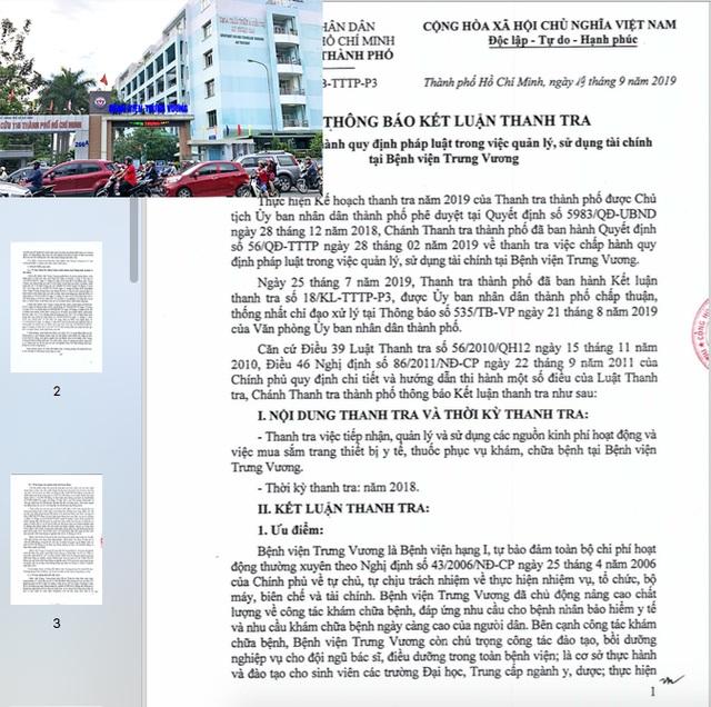 Hàng loạt sai phạm tại Bệnh viện Trưng Vương TP HCM! - 2