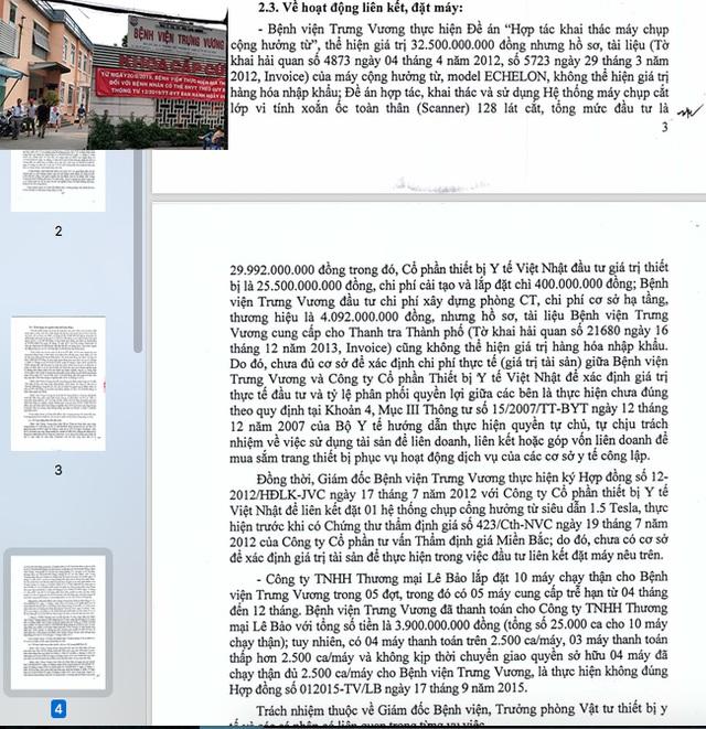 Hàng loạt sai phạm tại Bệnh viện Trưng Vương TP HCM! - 4