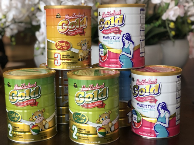 """Traphaco """"lấn sân"""", chính thức phân phối dòng sữa New Zealand Gold tại Việt Nam - 1"""