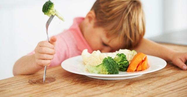 Làm sao để con chịu ăn rau - 1