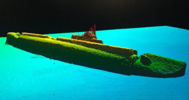 Một chữ số bị sai khiến tàu ngầm Mỹ mất tích không thể tìm thấy trong 75 năm - 2
