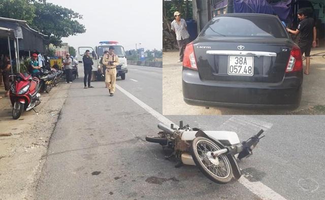 Làm rõ danh tính tài xế gây tai nạn bỏ chạy, xưng là thiếu tá quân đội - 1