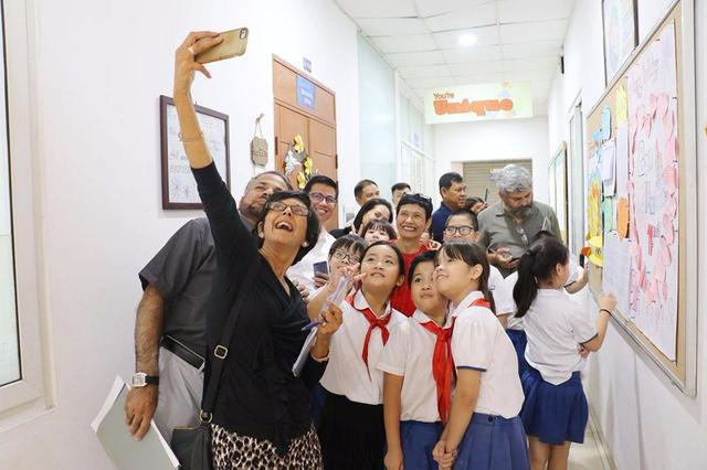 """Trường Tiểu học Ban Mai được công nhận là trường """"Hoa tiêu toàn cầu - 4"""
