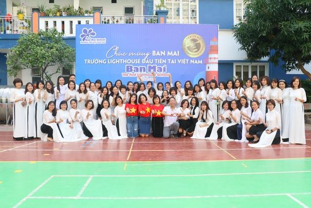 """Trường Tiểu học Ban Mai được công nhận là trường """"Hoa tiêu toàn cầu - 5"""