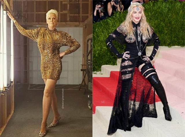 Brigitte Nielsen tiết lộ từng tát Madonna - 1
